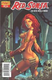 Red Sonja #37 Cover A Rubi (2008) Dynamite Entertainment comic book